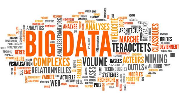 BIG DATA (tag cloud, français)